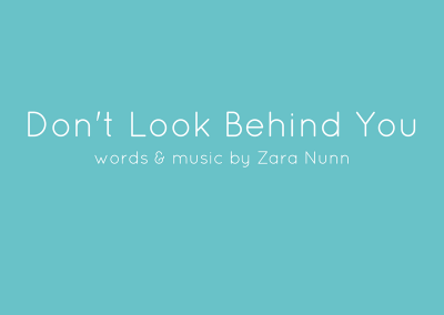 DON'T LOOK BEHIND YOU | Children's Songs on Film