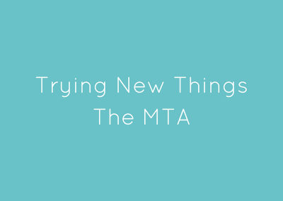 TRYING NEW MATERIAL | The MTA